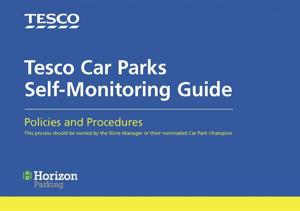Self-Monitoring Guide Tesco