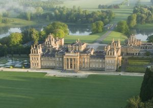 Blenheim Palace-Park and gardens-South Lawn-Aerial (2)-Crop